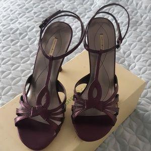 Max Studio Plum colored sandals